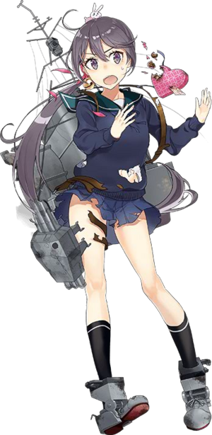 DD Akebono Valentine 985 Full Damaged