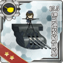 15.5cm Triple Secondary Gun Mount 012 Card
