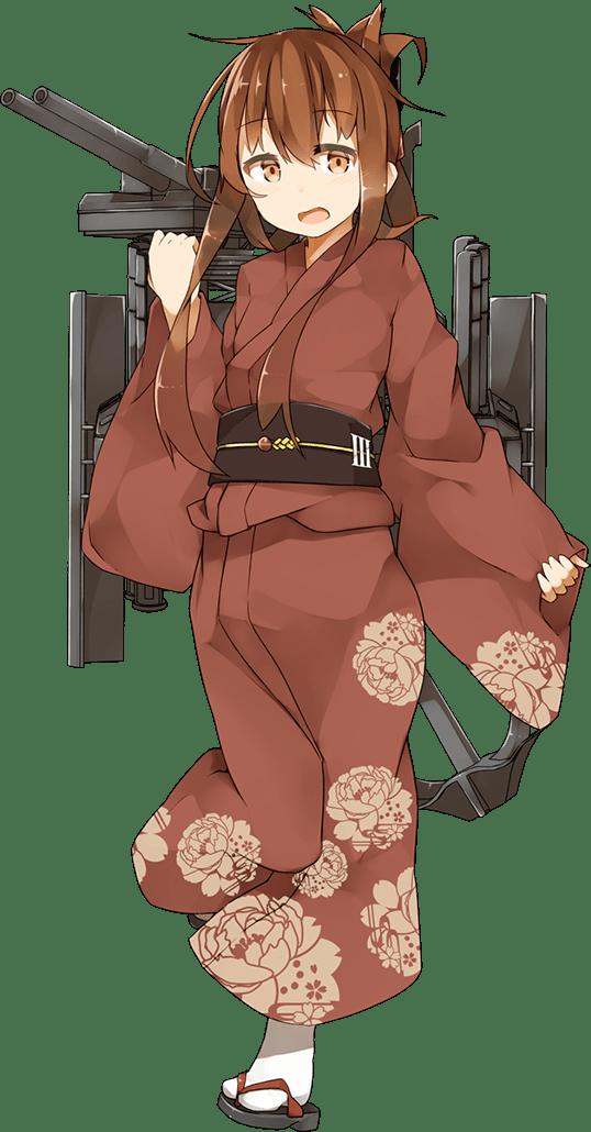 Inazuma Yukata Full