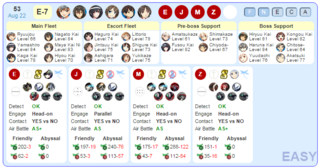 Hatsukaze dropped in E-7 boss