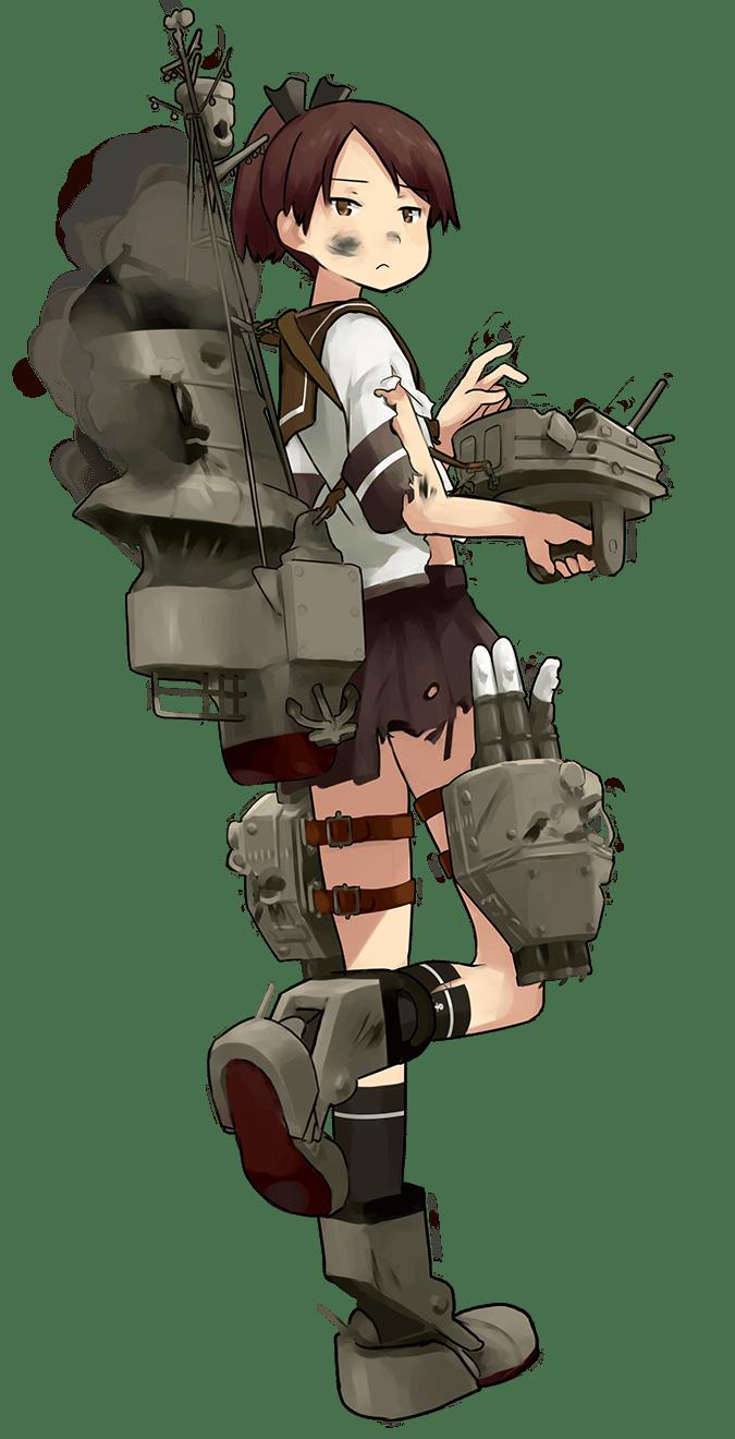 Shikinami Full Damaged