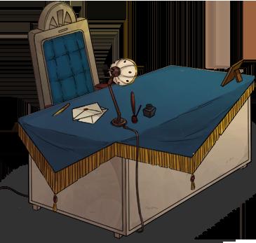 Admiral's desk