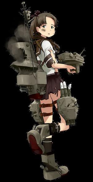 DD Ayanami 013 Full Damaged
