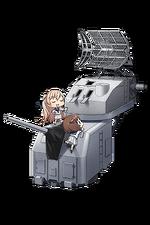 5inch Single Gun Mount Mk.30 Kai + GFCS Mk.37 308 Full