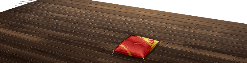 Ship Girl Cushion Floor