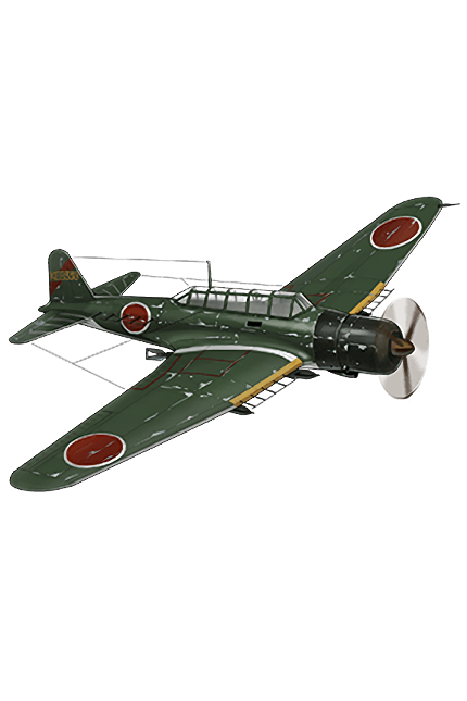 Type 97 Torpedo Bomber (931 Air Group Skilled) 302 Equipment