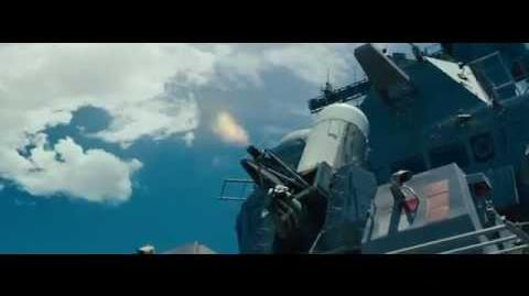 Battleship - clouse in weapones system (CIWS)
