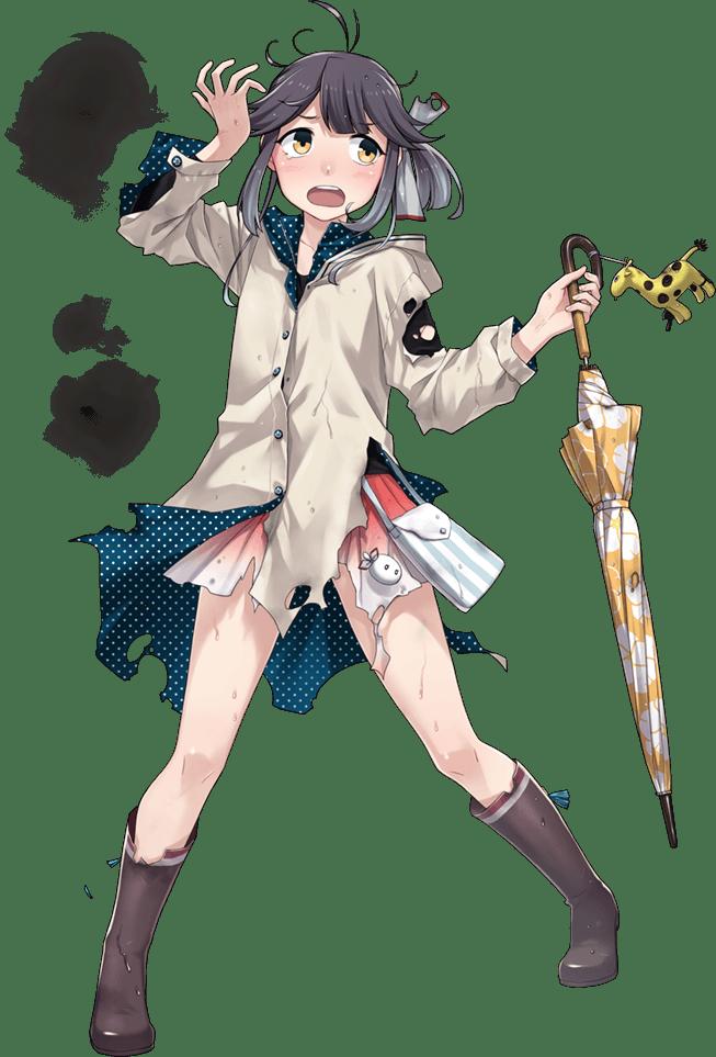Hayanami Rainy Full Damaged