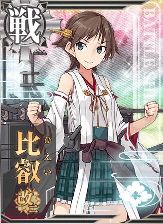 Hiei Kai Ni Card
