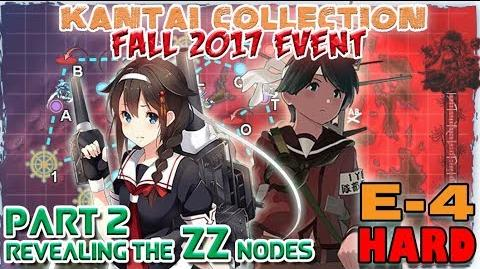 【KanColle】Fall 2017 Event E-4 Phase 2 Revealing the ZZ nodes