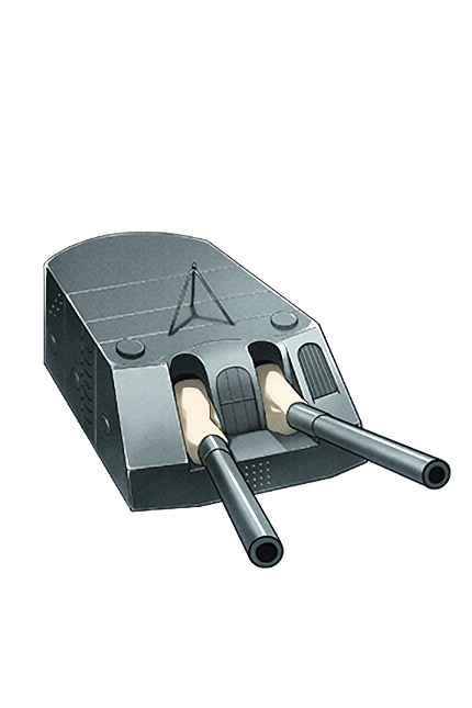 15.2cm Twin Gun Mount 065 Equipment