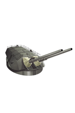 41cm Twin Gun Mount 008 Equipment