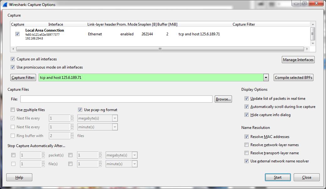 User blog:Martirsadota/Utilizing Wireshark for Kancolle