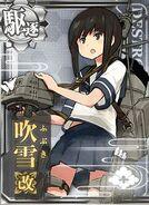 DD Fubuki Kai 201 Card