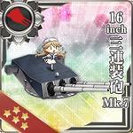 16inch Triple Gun Mount Mk.7 161 Card