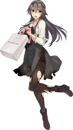 Haruna Shopping Full Damaged