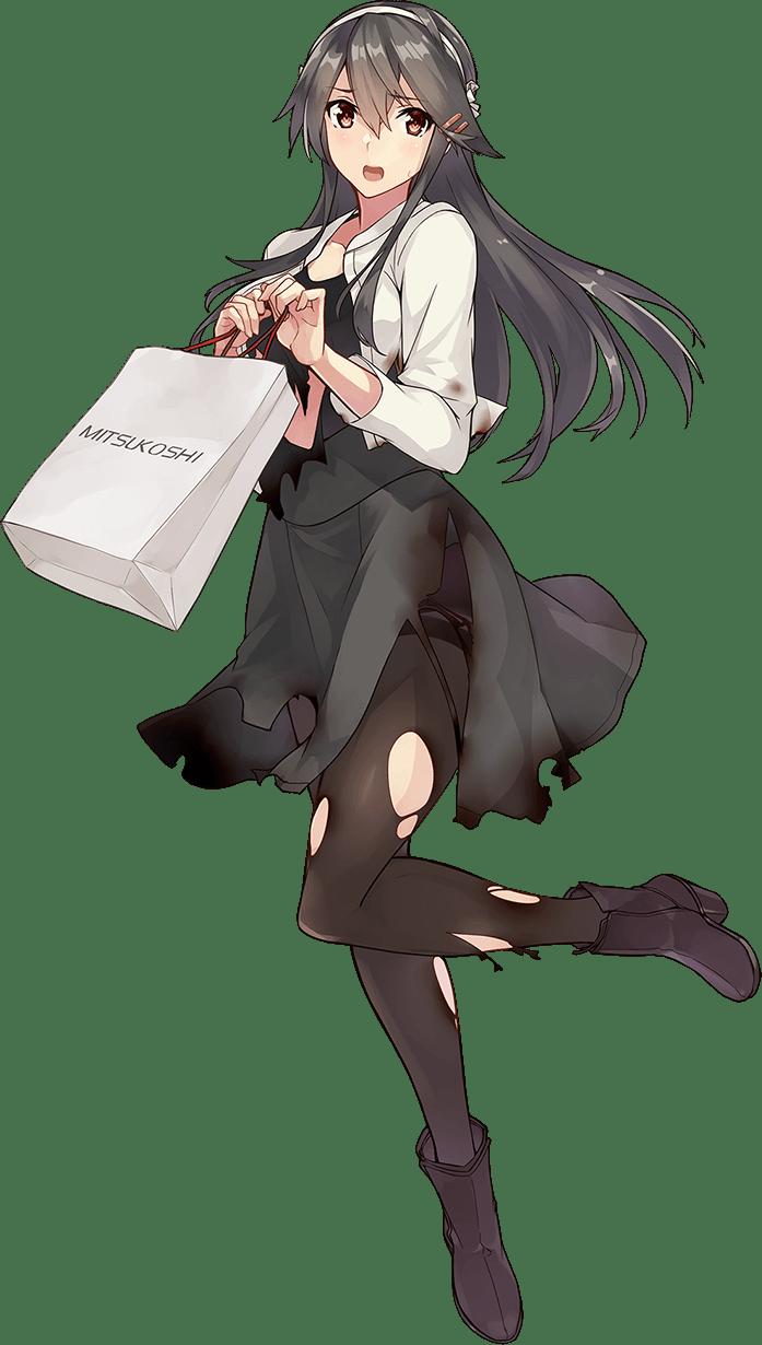 Haruna Shopping Full Damaged