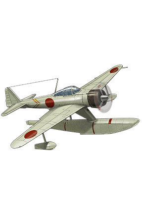 Type 2 Seaplane Fighter Kai (Skilled) 216 Equipment