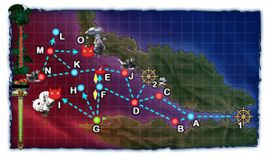 Early Fall 2018 Event E-2 Map