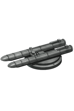 53cm Twin Torpedo Mount 174 Equipment