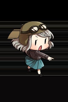 Bf 109T Kai 158 Character