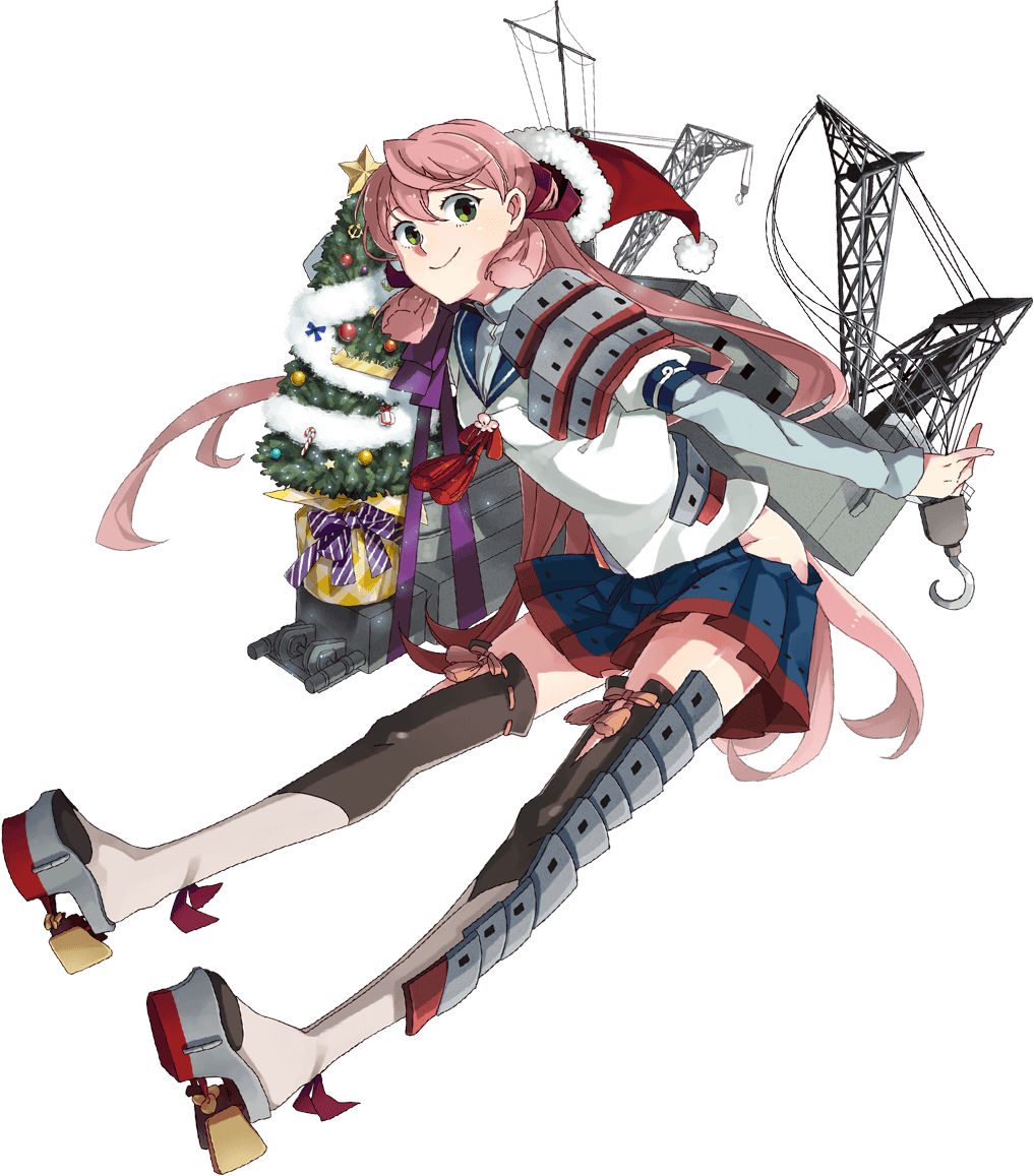 Image - Akashi Christmas Full.png | Kancolle Wiki | FANDOM powered ...