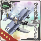 Swordfish Mk.III Kai (Seaplane Model) 368 Card