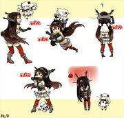 Nagato and Hoppo