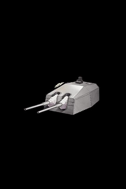 15cm Twin Secondary Gun Mount 077 Equipment