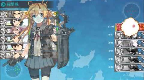 Kancolle Fall 2015 Event E-4 - The Great Whale EASY FINAL PHASE