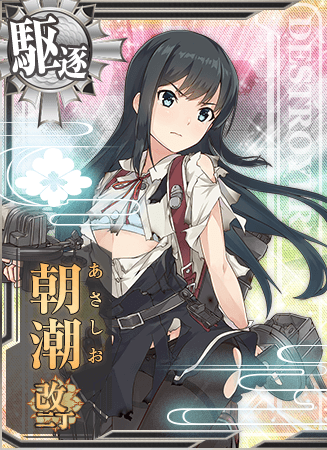 Asashio Kai Ni D Card Damaged