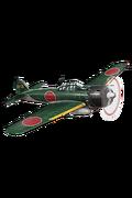Zero Fighter Model 52A (w Iwamoto Flight) 156 Equipment