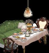 Kongou's tea set