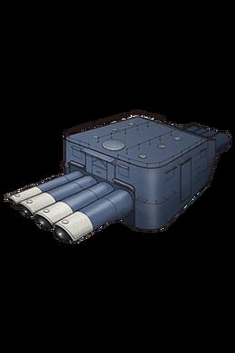 61cm Quadruple (Oxygen) Torpedo Mount 015 Equipment