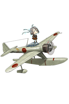 Type 2 Seaplane Fighter Kai (Skilled) 216 Full