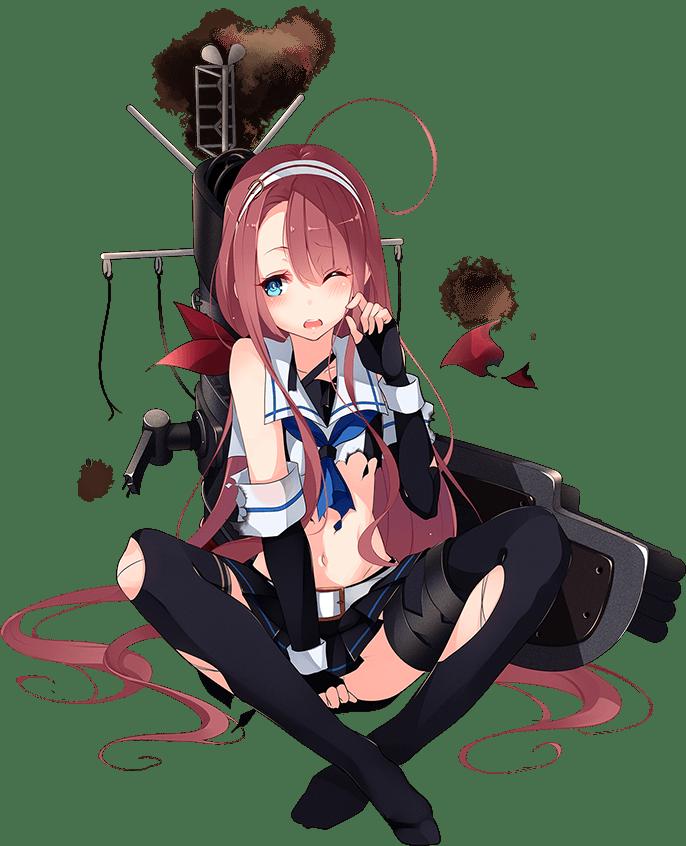 Kawakaze Full Damaged