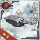 8inch Triple Gun Mount Mk.9 356 Card