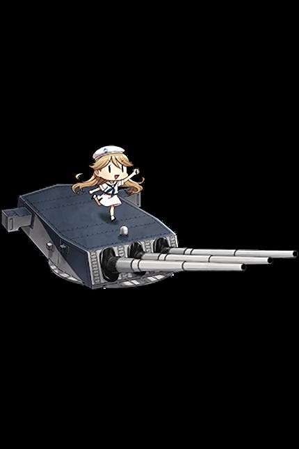 16inch Triple Gun Mount Mk.7 161 Full