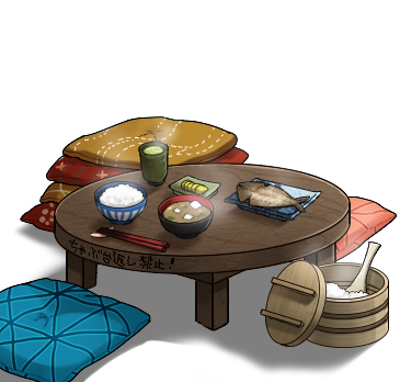 Image - Low dining table set.png   Kancolle Wiki   FANDOM powered by ...