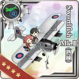 Swordfish Mk.III (Skilled) 244 Card