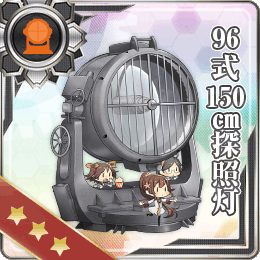 Type 96 150cm Searchlight 140 Card