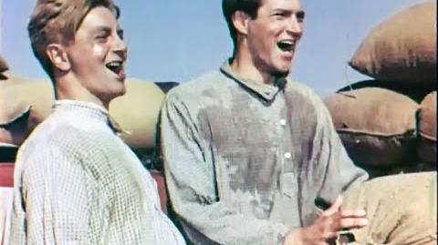 "40s ""Kubanskie Kazaki"" Cossacks of the Kuban fragment soviet musical film"
