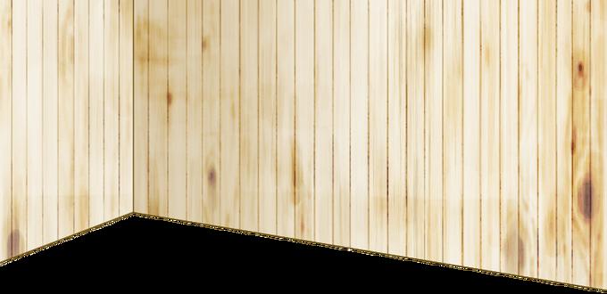 High-quality wood wall