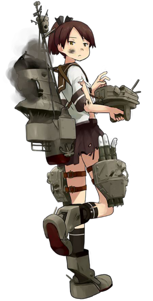 DD Shikinami 014 Full Damaged