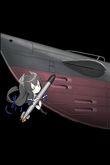 Late Model 53cm Bow Torpedo Mount (8 tubes) 383 Full