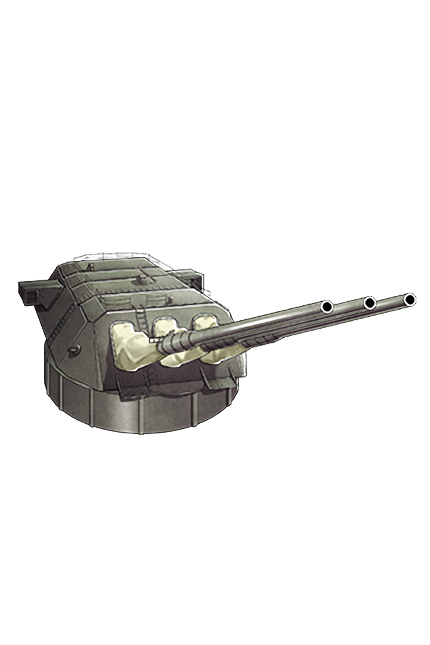 46cm Triple Gun Mount 009 Equipment