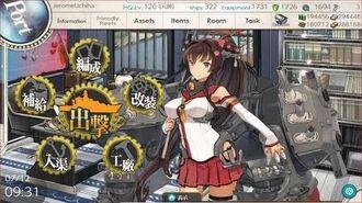 "KanColle (HTML5 Mode) - Rainy-Summer 2020 Event E-2 Hard ""SC Wo-Class Kai Flagship IV"" Last Dance"