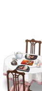 Naval base's tea party set