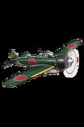 Type 0 Fighter Model 53 (Iwamoto Squadron) 157 Equipment
