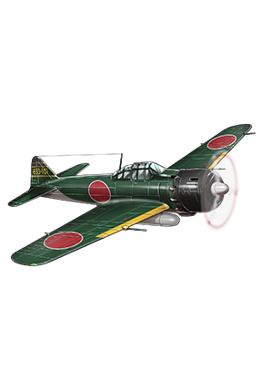 Type 0 Fighter Model 53 (Iwamoto Squadron) 157 Equipment